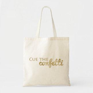 Tote Bag Positionnez les confettis