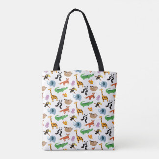 Tote Bag Poster de animal mignon