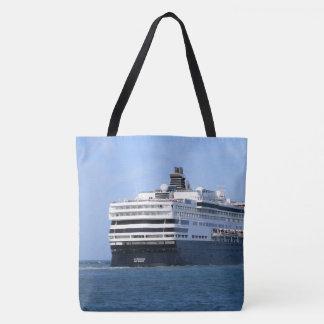 Tote Bag Poupe et tribord croisant loin