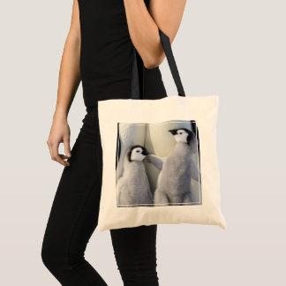 Tote Bag Poussin de pingouin d'empereur
