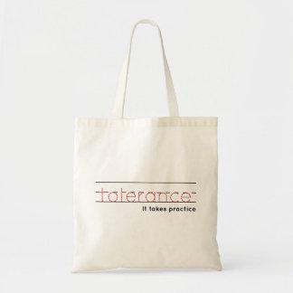 Tote Bag pratique en matière de la tolérance |