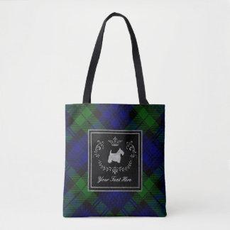 Tote Bag Premiers rangs Blackwatch de Terrier d'écossais