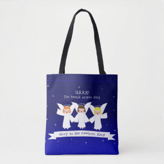 Tote Bag Prêtez l'oreille ! Les anges de The Herald