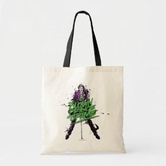 Tote Bag Prince Of Crime Ink Art de clown de joker de
