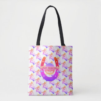 Tote Bag Princesse de poney