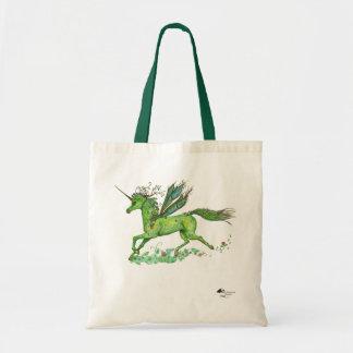 Tote Bag Princesse magique plante verte de licorne féerique