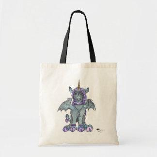 Tote Bag Princesse magique Unique-Maïs de licorne noire de