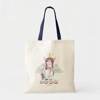 Tote Bag Princesse magique Unique-Maïs de licorne rose