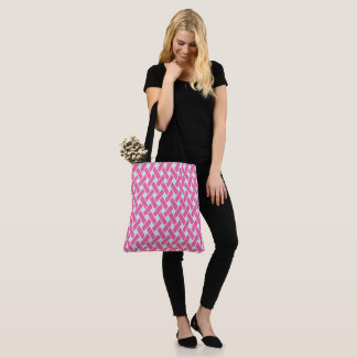 Tote Bag Princesse Pink Pattern