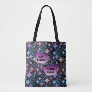Tote Bag Profil sous convention astérisque moderne des