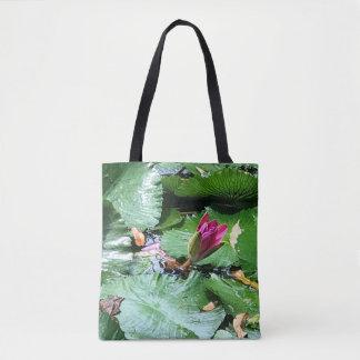 Tote Bag Protection de lis en fleur