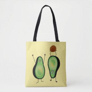Tote Bag Puits vert encourageant drôle d'appui renversé