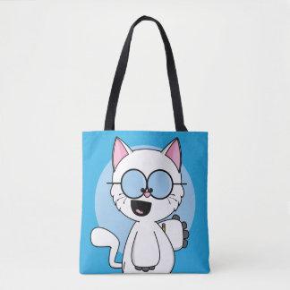 Tote Bag Pythagore le chat Fourre-tout
