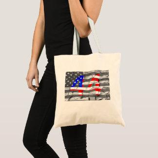 Tote Bag quarante-quatrième Le Président Obama Fan Flag