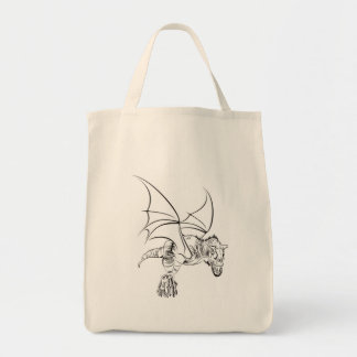 Tote Bag Raptor à ailes/tribal