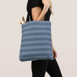Tote Bag Rayures bleues