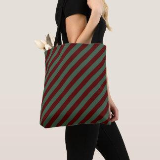 Tote Bag Rayures de Noël