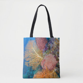 Tote Bag Récif coralien pittoresque
