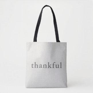 Tote Bag Reconnaissant reconnaissant