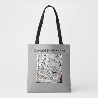 Tote Bag Réflexions de cow-girl