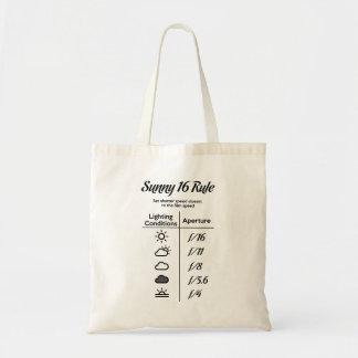 Tote Bag Règle 16 ensoleillée