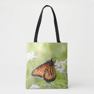 Tote Bag Reine exposant au soleil sur le milkweed