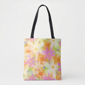 Tote Bag Ressort Fourre-tout floral (grand)