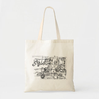 Tote Bag Restaurant asiatique