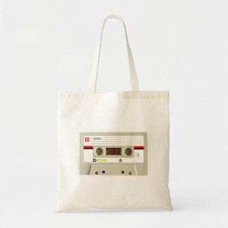 Tote Bag Rétro enregistreur à cassettes