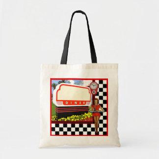 Tote Bag rétro wagon-restaurant de les années 50