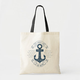 Tote Bag Rêves de motivation d'ancre de citation de la vie