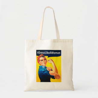 Tote Bag Robe comme une femme