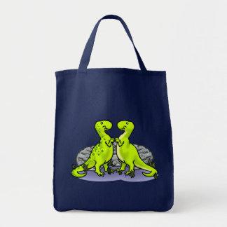 Tote Bag Roche de dinosaures !