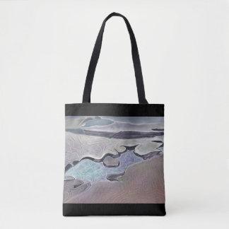 Tote Bag Rockplatform stylisé et piscine de marée