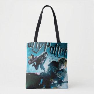 Tote Bag Ron et Ginny sur les balais 1