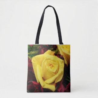 Tote Bag rose jaune