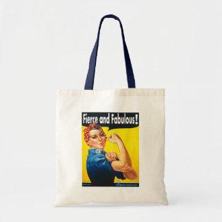 Tote Bag Rosie le rivoir féroce et fabuleux