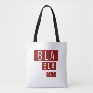 Tote Bag Rouge de Bla Bla Bla