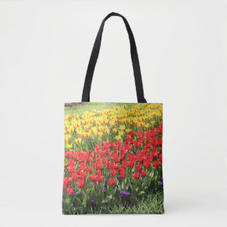 Tote Bag Route des tulipes