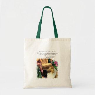 Tote Bag Sable approximatif de cadeaux d'art de colley