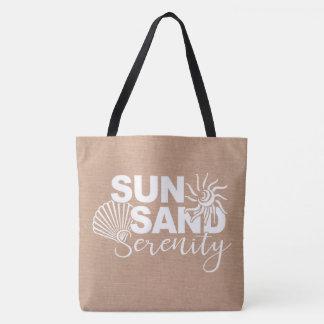 Tote Bag Sable et sérénité de Sun
