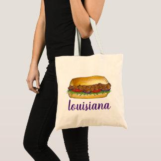 Tote Bag Sandwich NOLA à Po'Boy de crevette de la