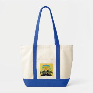 Tote Bag Sauvez la planète
