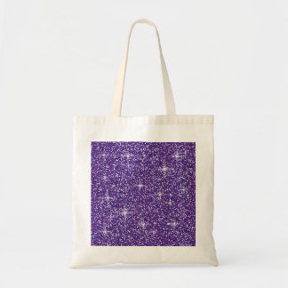 Tote Bag Scintillement iridescent pourpre
