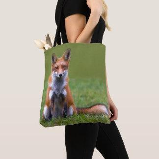 Tote Bag Séance de Fox rouge