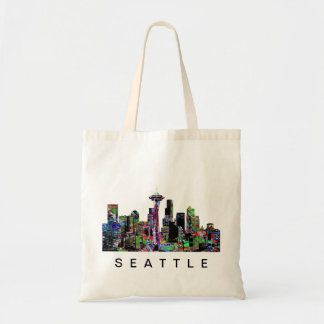 Tote Bag Seattle dans le graffiti