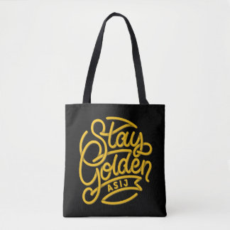 Tote Bag Séjour Fourre-tout d'or d'ASIJ