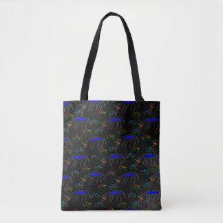 Tote Bag Sentez la licorne de fleurs