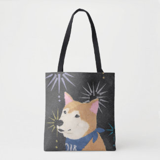 Tote Bag Shiba Inu, Shiba orange, année du chien