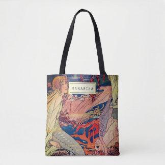 Tote Bag Sirène de Nouveau d'art vintage belle